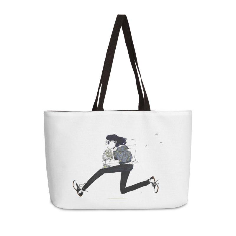Late Accessories Weekender Bag Bag by St Baldricks's Artist Shop