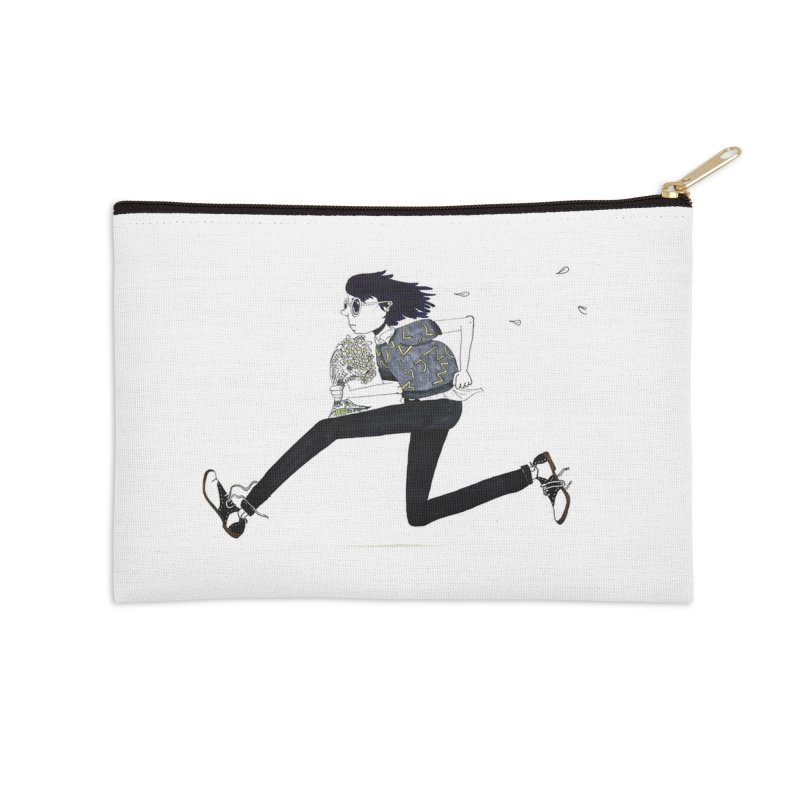 Late Accessories Zip Pouch by St Baldricks's Artist Shop