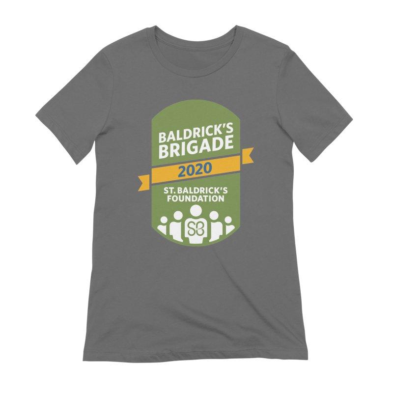 Baldrick's Brigade Women's Extra Soft T-Shirt by St Baldricks's Artist Shop