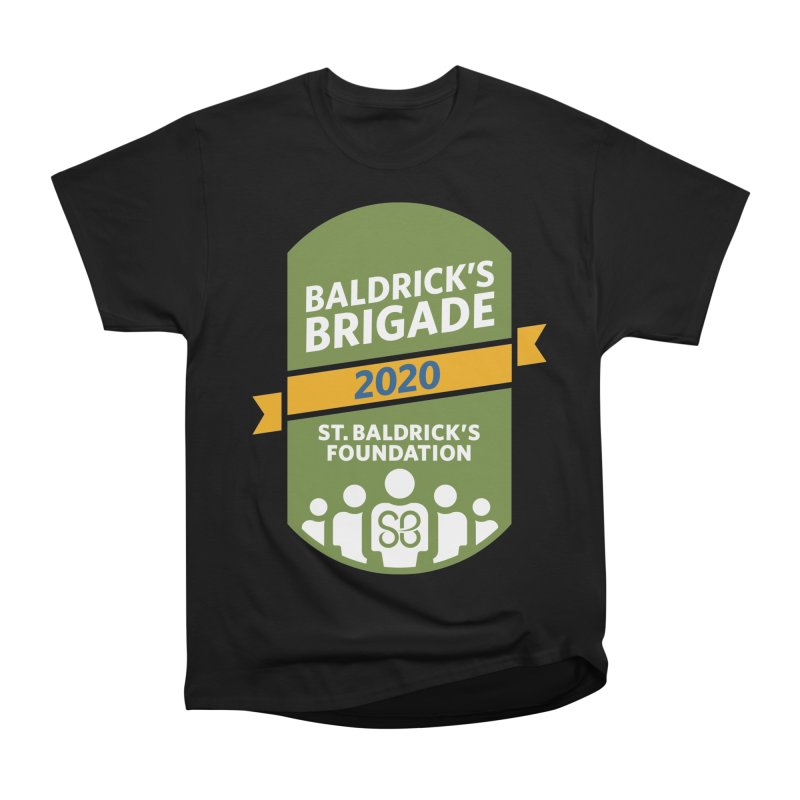Baldrick's Brigade Women's Heavyweight Unisex T-Shirt by St Baldricks's Artist Shop