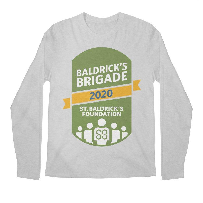 Baldrick's Brigade Men's Regular Longsleeve T-Shirt by St Baldricks's Artist Shop