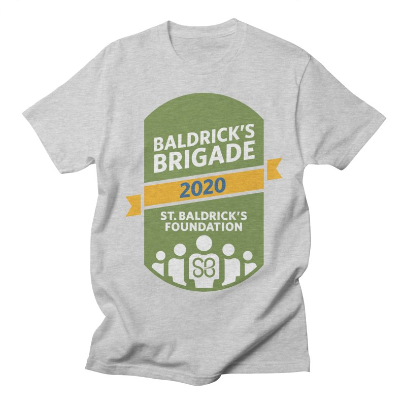 Baldrick's Brigade Men's Regular T-Shirt by St Baldricks's Artist Shop