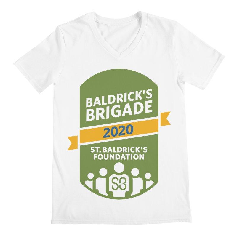 Baldrick's Brigade Men's Regular V-Neck by St Baldricks's Artist Shop
