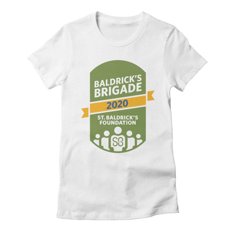 Baldrick's Brigade Women's Fitted T-Shirt by St Baldricks's Artist Shop