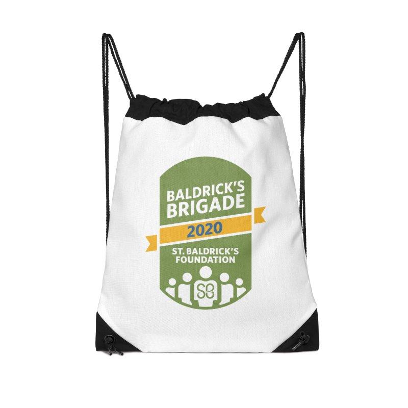 Baldrick's Brigade Accessories Drawstring Bag Bag by St Baldricks's Artist Shop