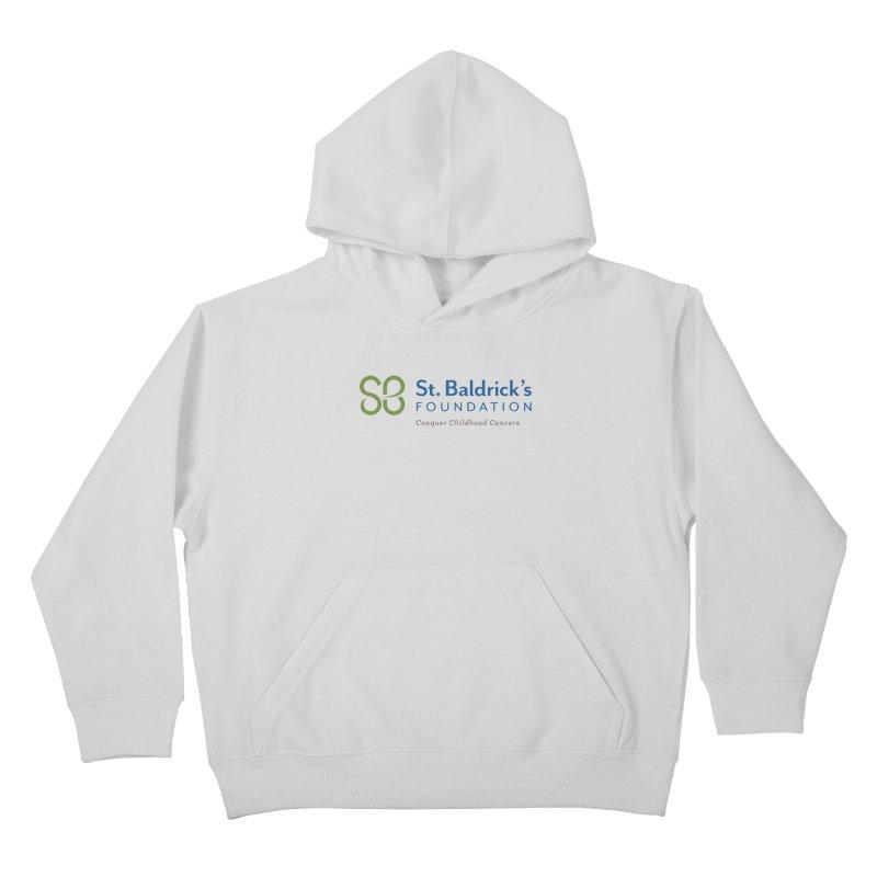 SBF Logo - tagline Kids Pullover Hoody by St Baldricks's Artist Shop