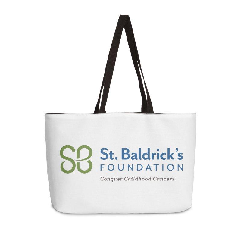 SBF Logo - tagline Accessories Weekender Bag Bag by St Baldricks's Artist Shop