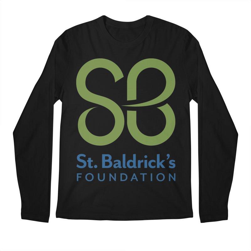 Stacked Logo Men's Regular Longsleeve T-Shirt by St Baldricks's Artist Shop