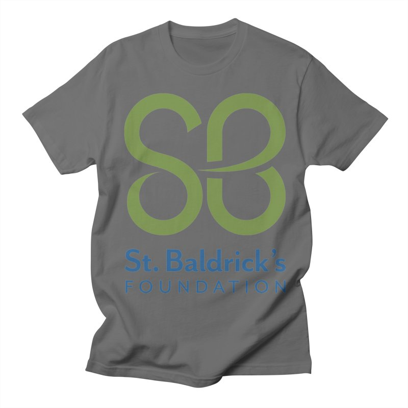 Stacked Logo Men's Regular T-Shirt by St Baldricks's Artist Shop