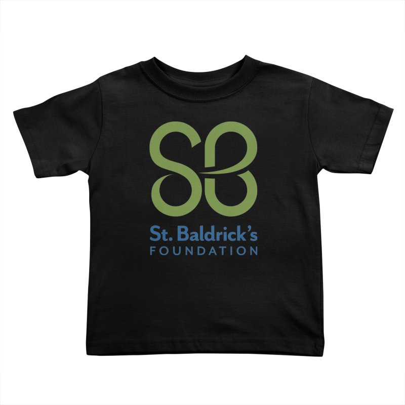Stacked Logo Kids Toddler T-Shirt by St Baldricks's Artist Shop