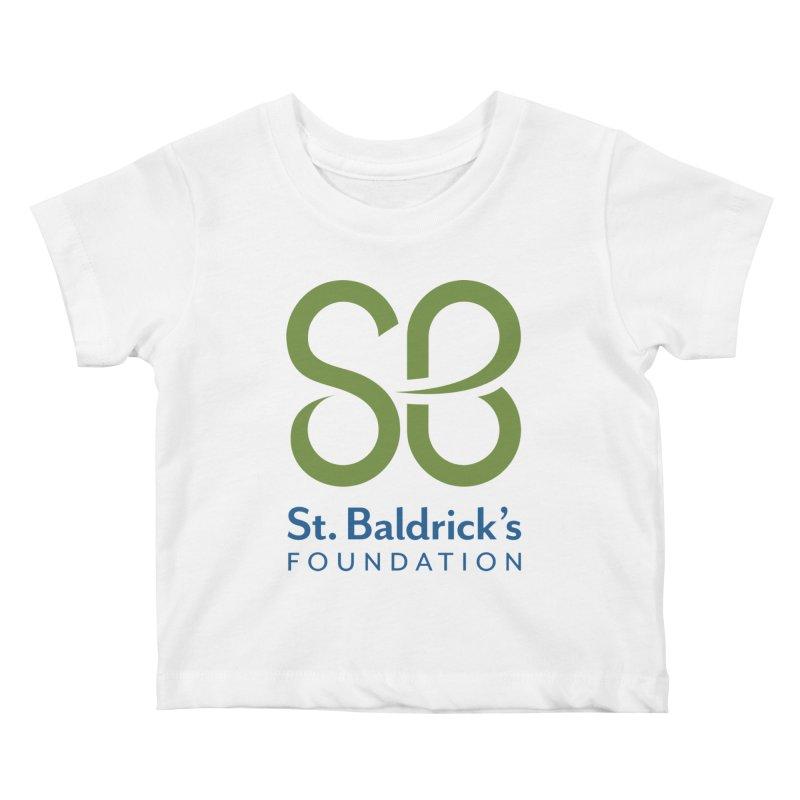 Stacked Logo Kids Baby T-Shirt by St Baldricks's Artist Shop
