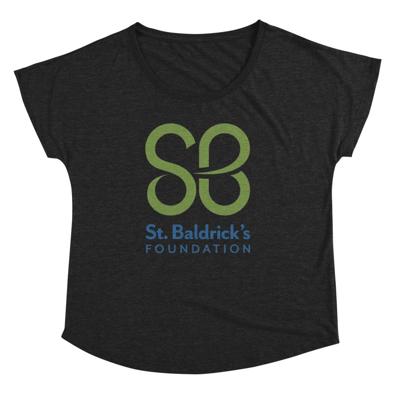 Stacked Logo Women's Dolman Scoop Neck by St Baldricks's Artist Shop