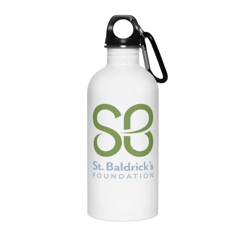 Stacked Logo in Water Bottle by St Baldricks's Artist Shop