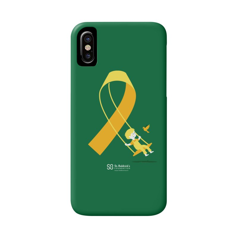 Hope & Happiness in iPhone X / XS Phone Case Slim by St Baldricks's Artist Shop