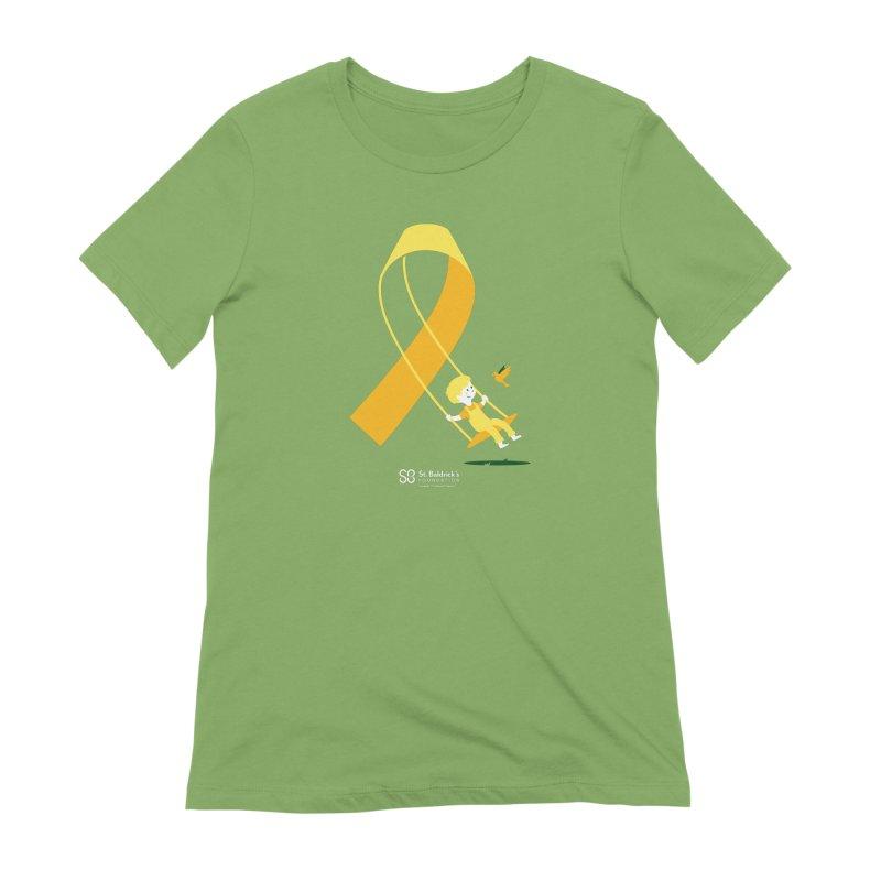 Hope & Happiness Women's Extra Soft T-Shirt by St Baldricks's Artist Shop