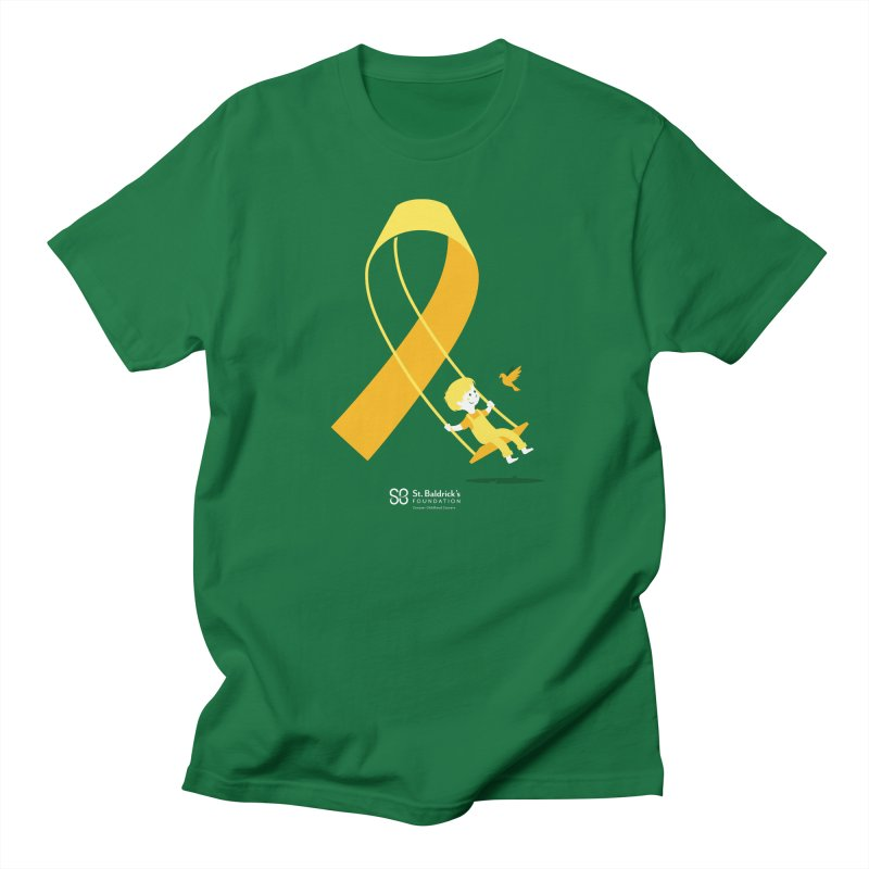 Hope & Happiness in Men's Regular T-Shirt Kelly Green by St Baldricks's Artist Shop
