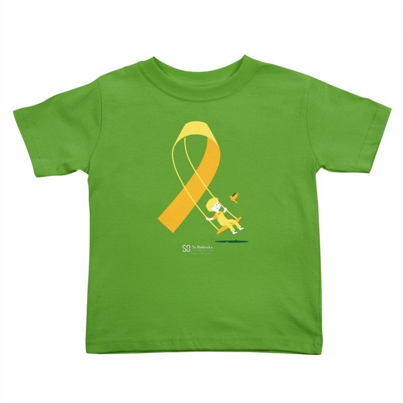 Hope & Happiness Kids Toddler T-Shirt by St Baldricks's Artist Shop