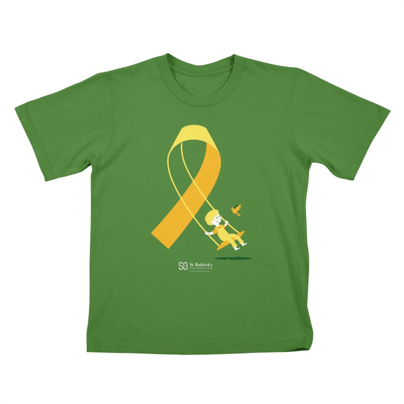 Hope & Happiness in Kids T-Shirt Clover by St Baldricks's Artist Shop