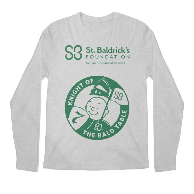 Knight Men's Regular Longsleeve T-Shirt by St Baldricks's Artist Shop