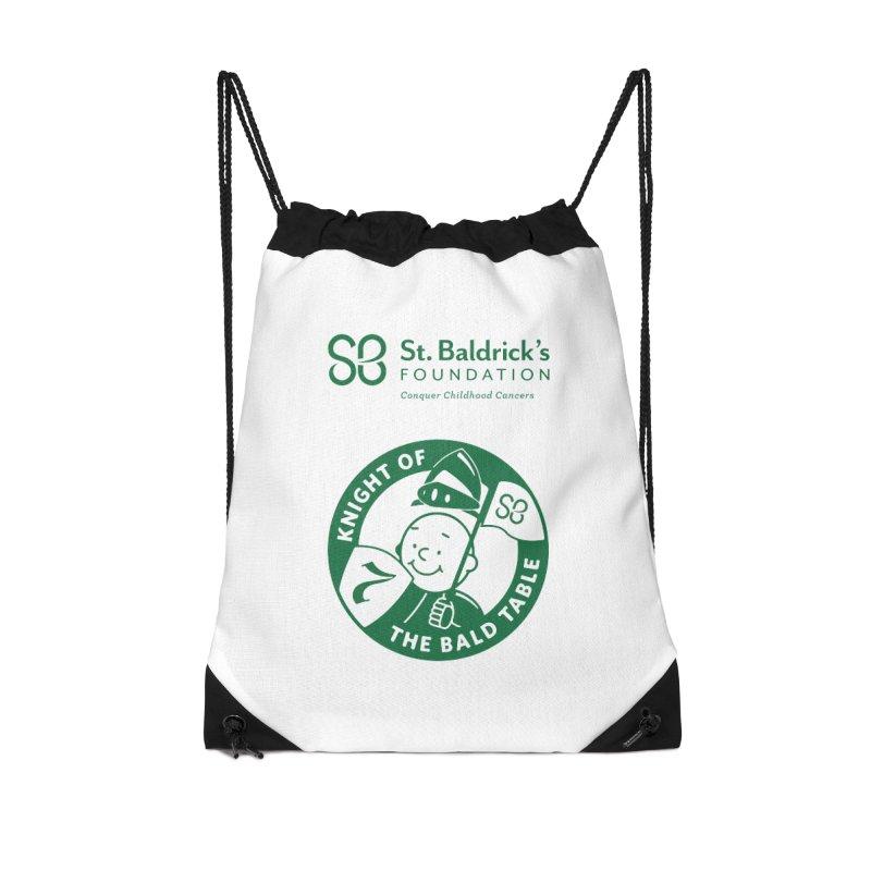 Knight Accessories Drawstring Bag Bag by St Baldricks's Artist Shop