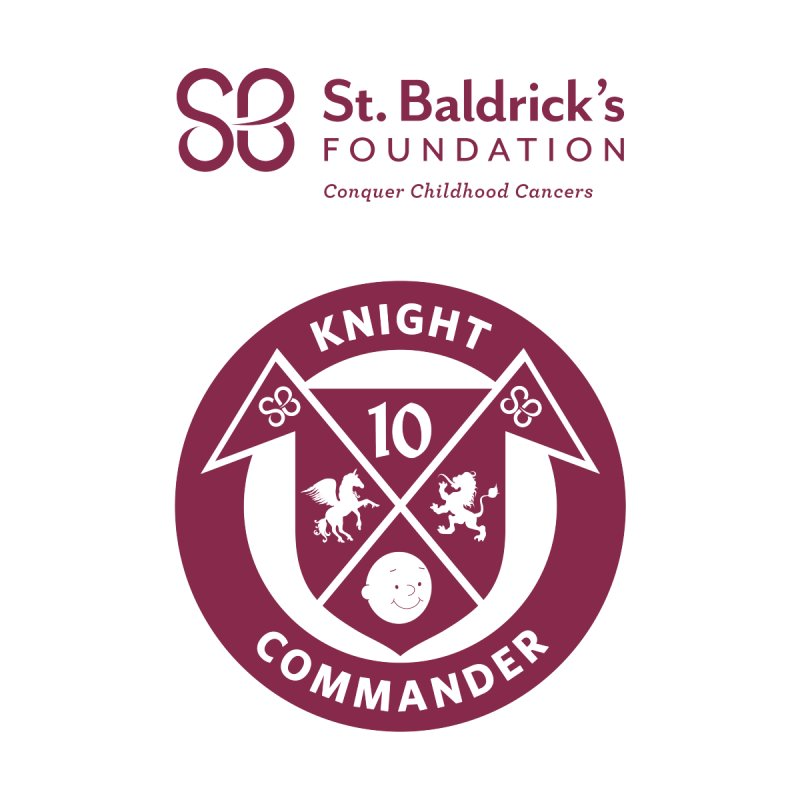 Knight Commander Men's T-Shirt by St Baldricks's Artist Shop