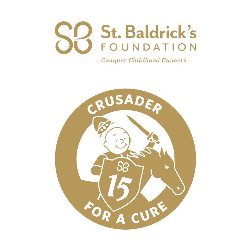 Crusader For a Cure Men's T-Shirt by St Baldricks's Artist Shop