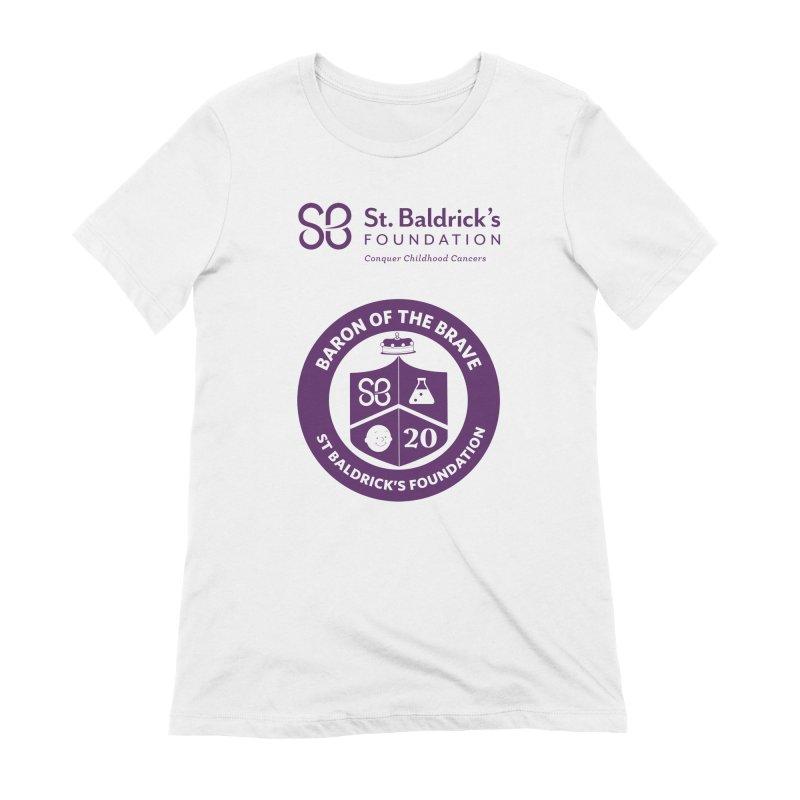 Baron of the Brave Women's Extra Soft T-Shirt by St Baldricks's Artist Shop