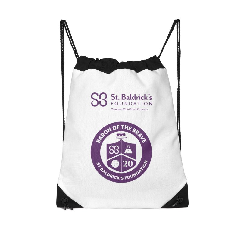 Baron of the Brave Accessories Drawstring Bag Bag by St Baldricks's Artist Shop