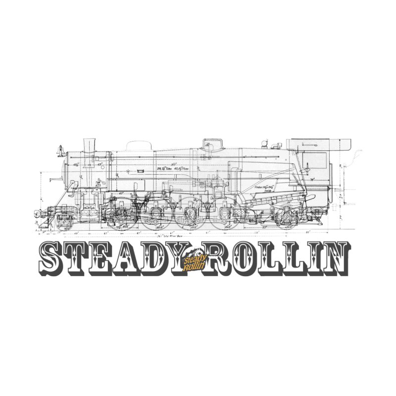 Steady Rollin - Engineers Collection Accessories Sticker by Steady Rollin Merch