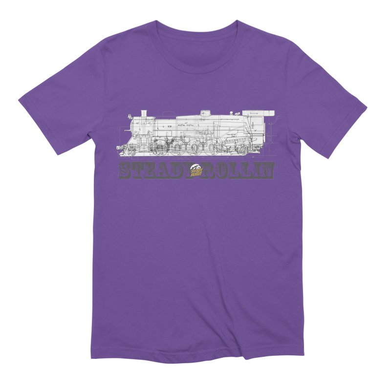 Steady Rollin - Engineers Collection Men's T-Shirt by Steady Rollin Merch
