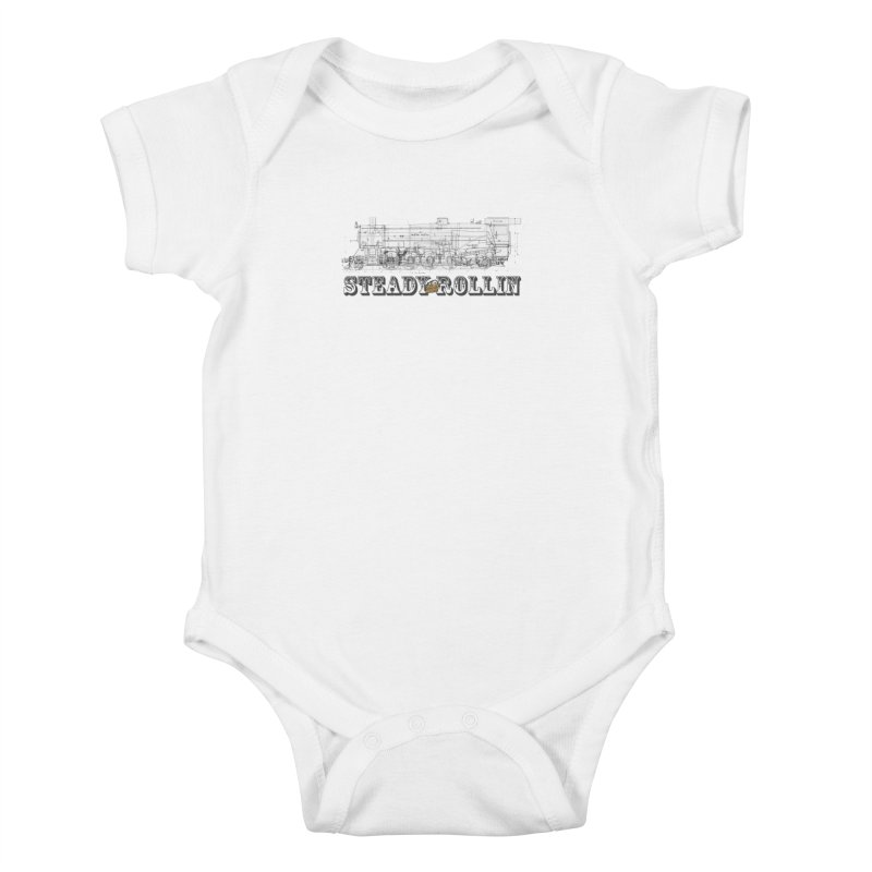 Steady Rollin - Engineers Collection Kids Baby Bodysuit by Steady Rollin Merch