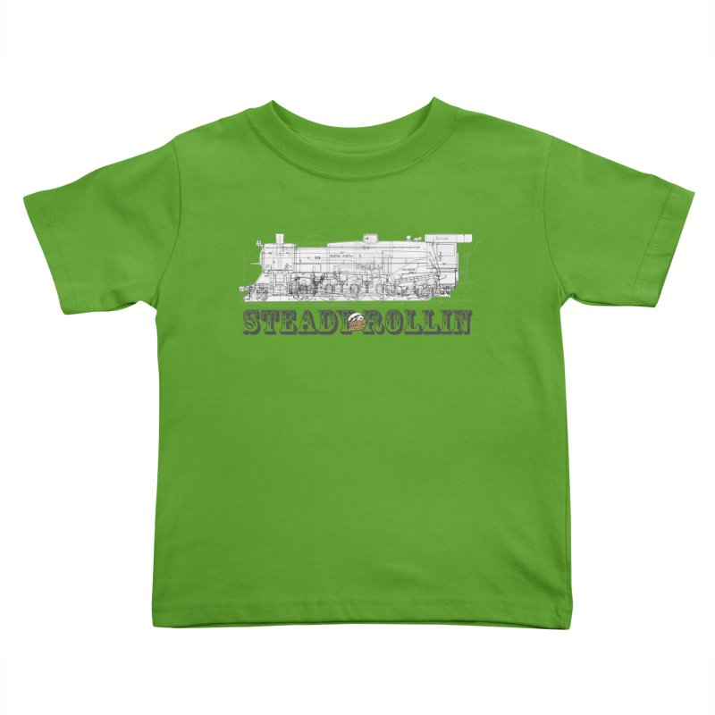 Steady Rollin - Engineers Collection Kids Toddler T-Shirt by Steady Rollin Merch