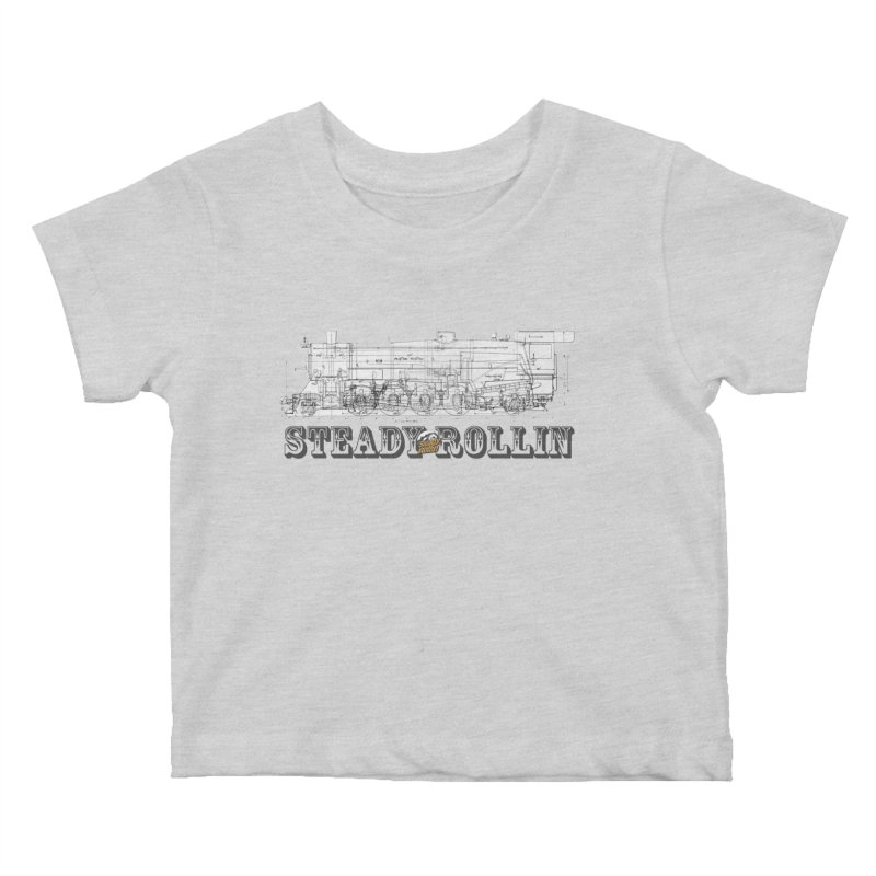 Steady Rollin - Engineers Collection Kids Baby T-Shirt by Steady Rollin Merch