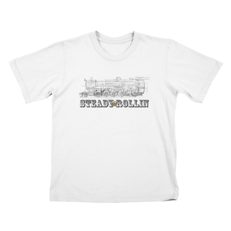 Steady Rollin - Engineers Collection Kids T-Shirt by Steady Rollin Merch