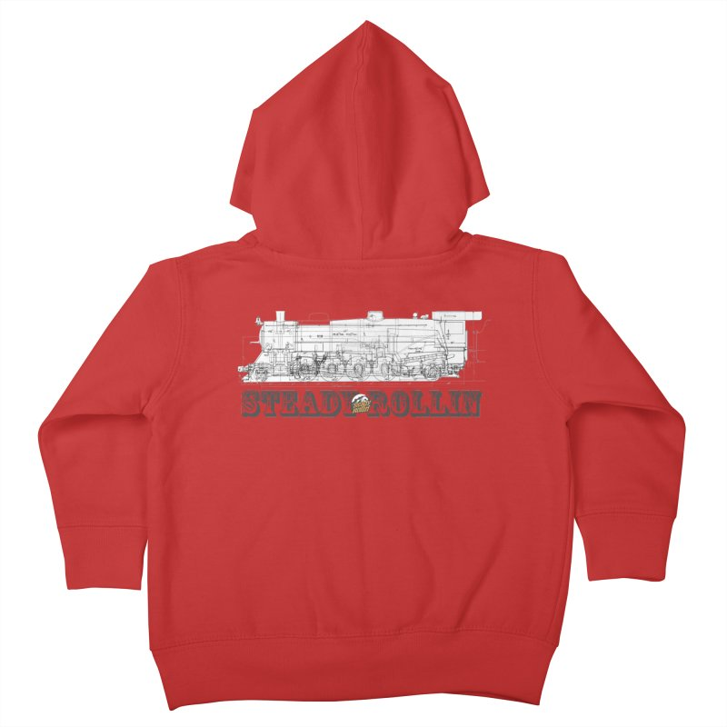 Steady Rollin - Engineers Collection Kids Toddler Zip-Up Hoody by Steady Rollin Merch