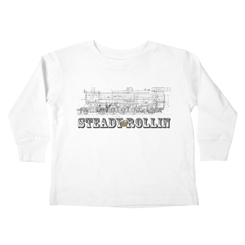 Steady Rollin - Engineers Collection Kids Toddler Longsleeve T-Shirt by Steady Rollin Merch