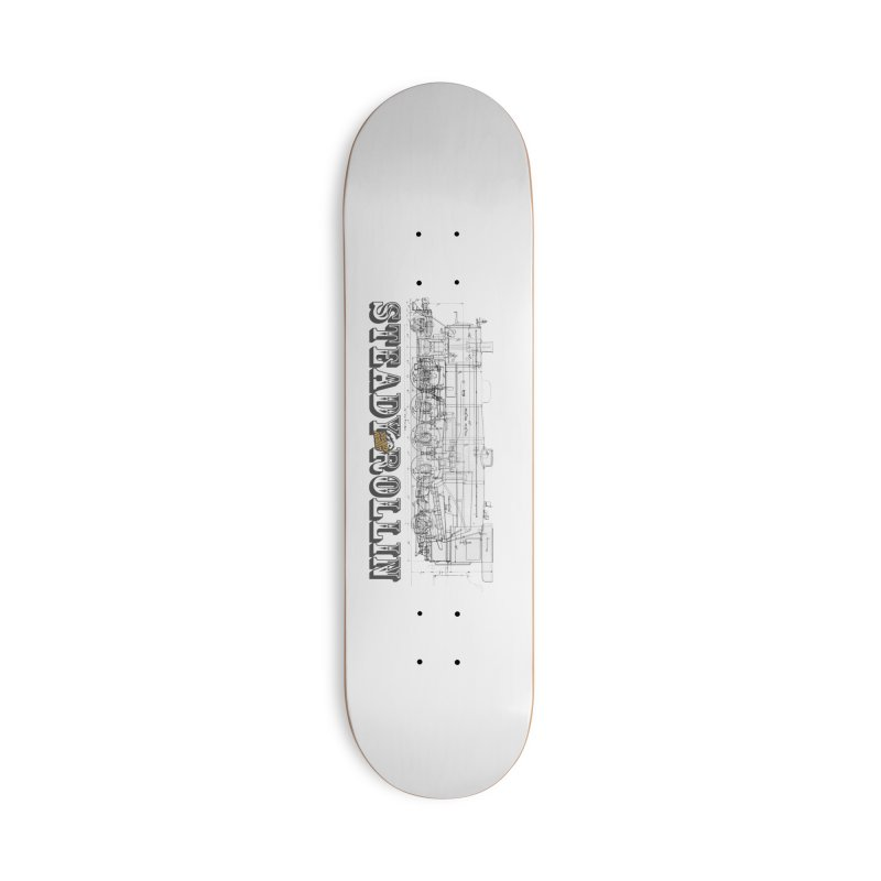 Steady Rollin - Engineers Collection Accessories Skateboard by Steady Rollin Merch