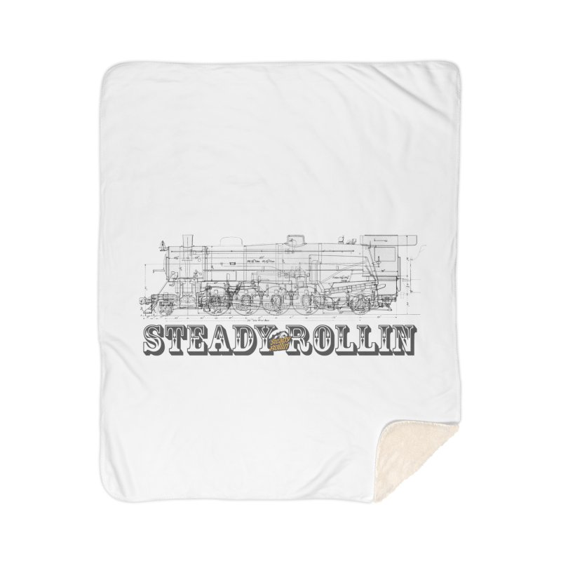 Steady Rollin - Engineers Collection Home Blanket by Steady Rollin Merch