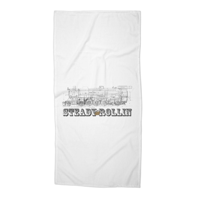 Steady Rollin - Engineers Collection Accessories Beach Towel by Steady Rollin Merch
