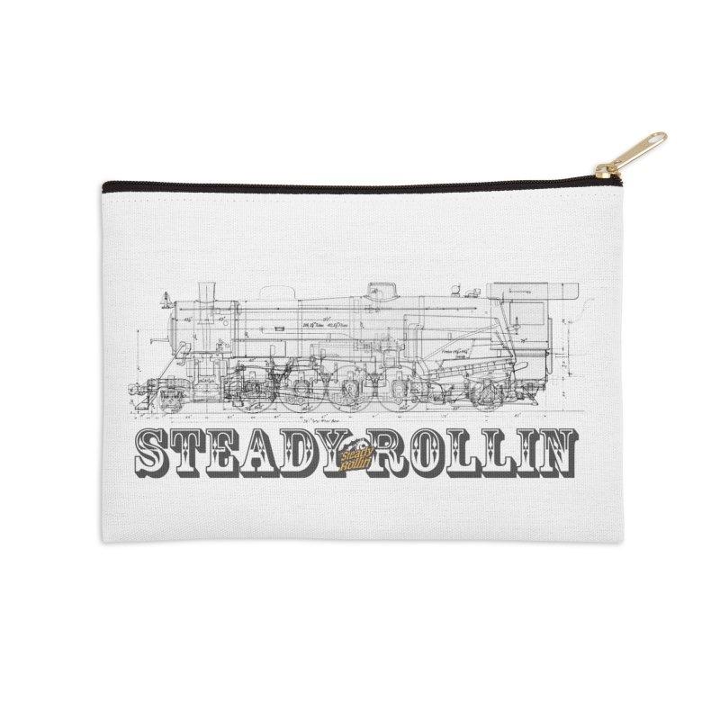 Steady Rollin - Engineers Collection Accessories Zip Pouch by Steady Rollin Merch