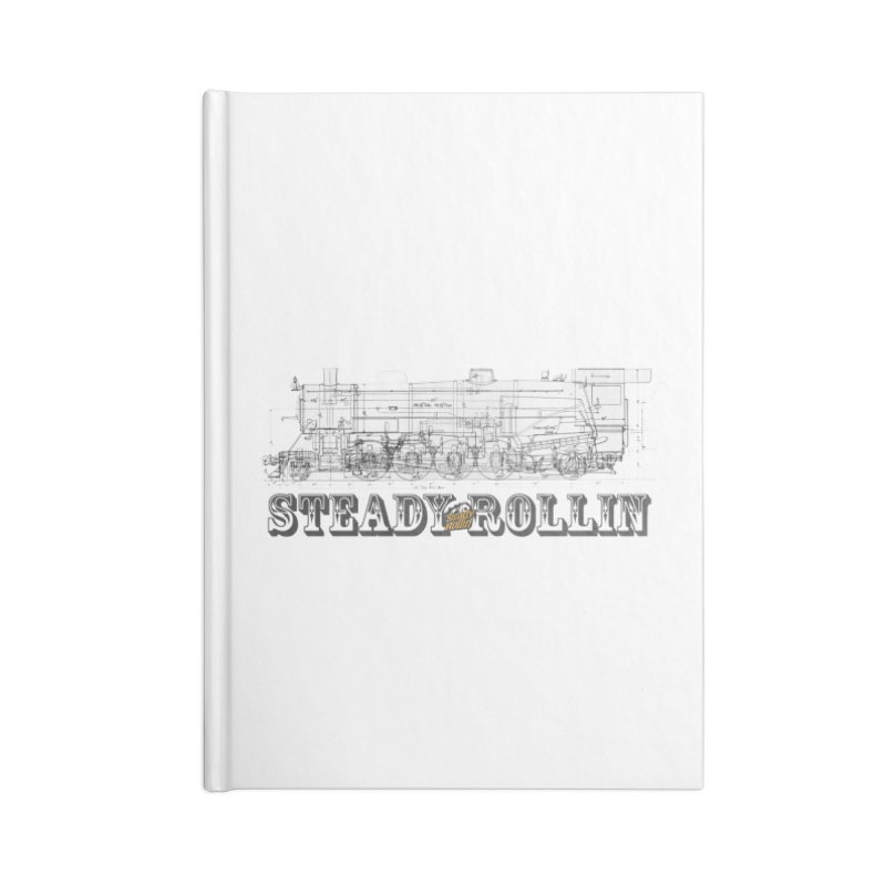 Steady Rollin - Engineers Collection Accessories Notebook by Steady Rollin Merch