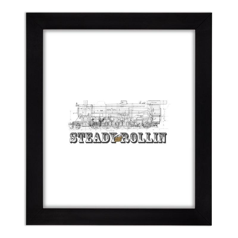 Steady Rollin - Engineers Collection Home Framed Fine Art Print by Steady Rollin Merch