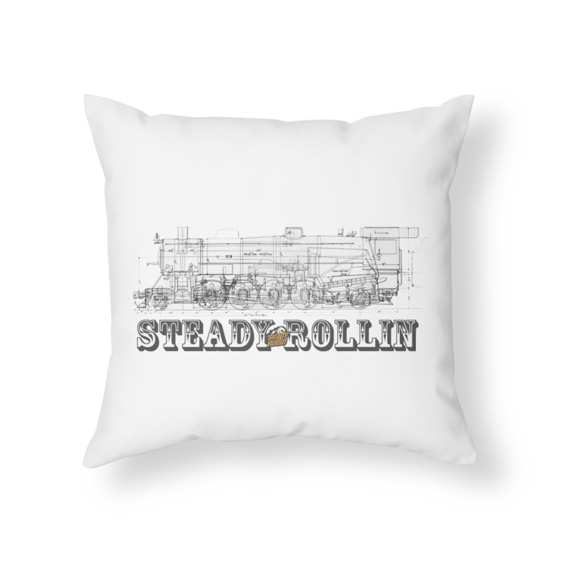 Steady Rollin - Engineers Collection Home Throw Pillow by Steady Rollin Merch