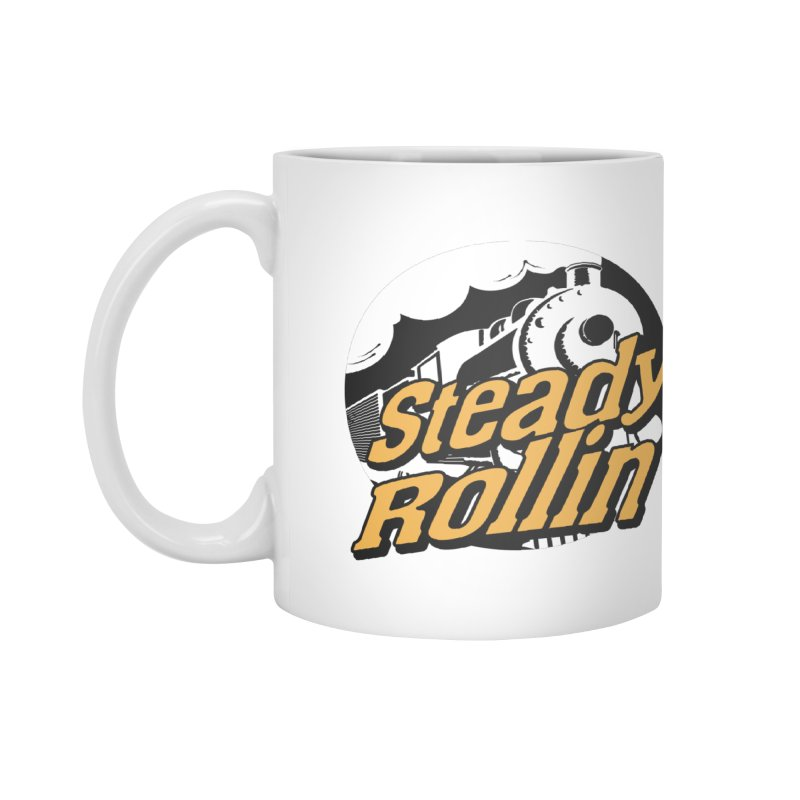 Steady Rollin - F.S.A. Collection (full steam ahead) Accessories Mug by Steady Rollin Merch