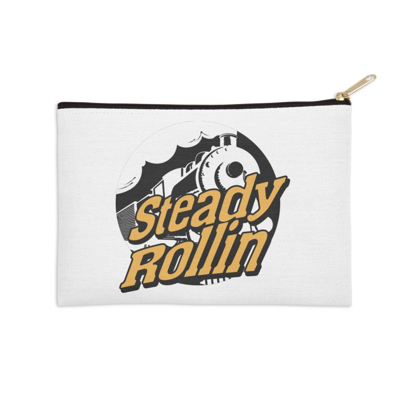 Steady Rollin - F.S.A. Collection (full steam ahead) Accessories Zip Pouch by Steady Rollin Merch