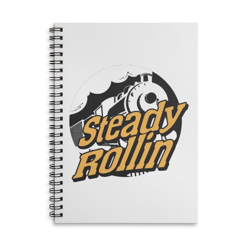 Steady Rollin - F.S.A. Collection (full steam ahead) Accessories Notebook by Steady Rollin Merch