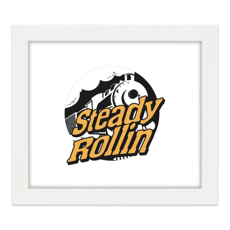 Steady Rollin - F.S.A. Collection (full steam ahead) Home Framed Fine Art Print by Steady Rollin Merch