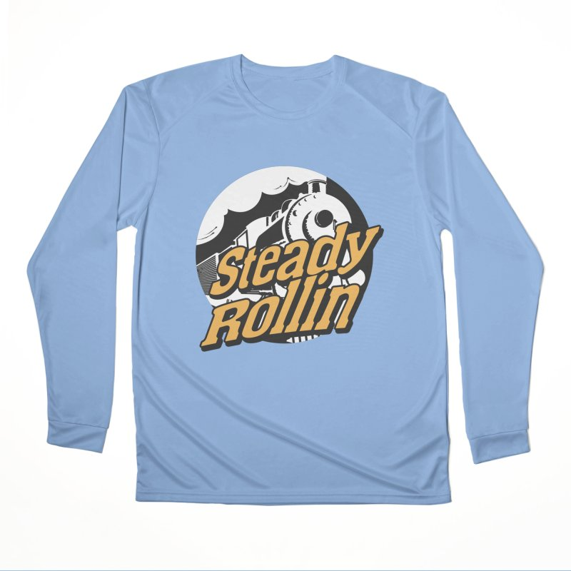 Steady Rollin - F.S.A. Collection (full steam ahead) Men's Longsleeve T-Shirt by Steady Rollin Merch
