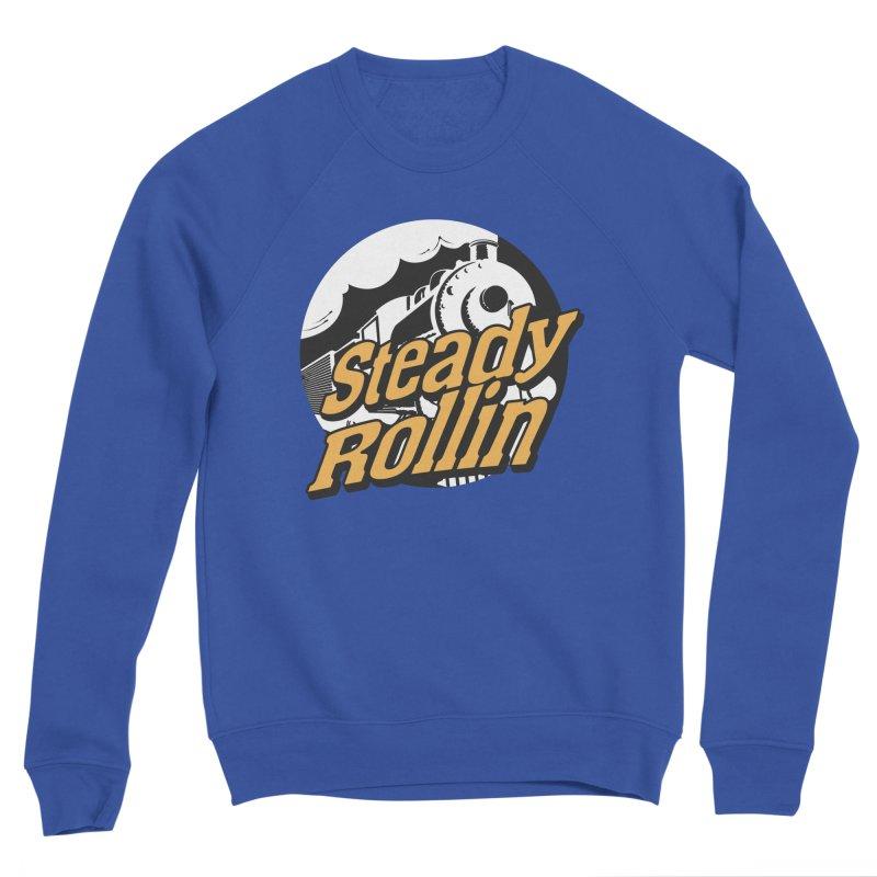 Steady Rollin - F.S.A. Collection (full steam ahead) Men's Sweatshirt by Steady Rollin Merch