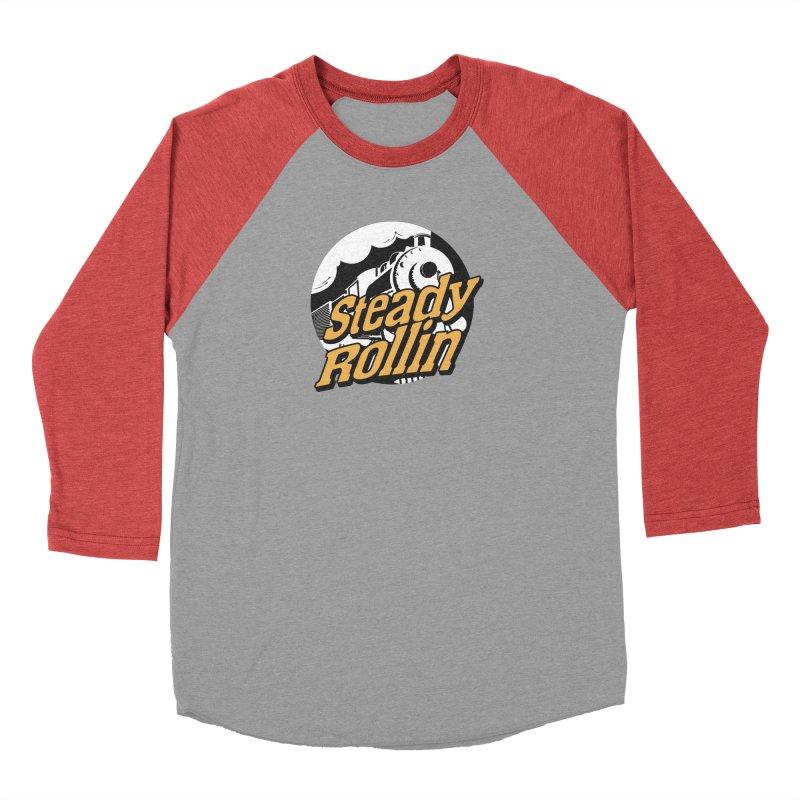 Steady Rollin - F.S.A. Collection (full steam ahead) Men's Longsleeve T-Shirt by Steady Rollin Merch
